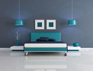 Dormitorio completo en pino