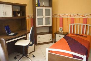 Dormitorio Juvenil Madera Maciza 02